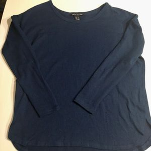 Sweaters - Navy Blue Sweater